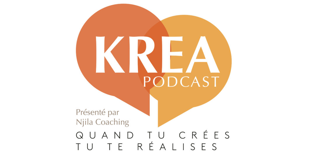 Logo des Krea Podcast de Njila Coaching